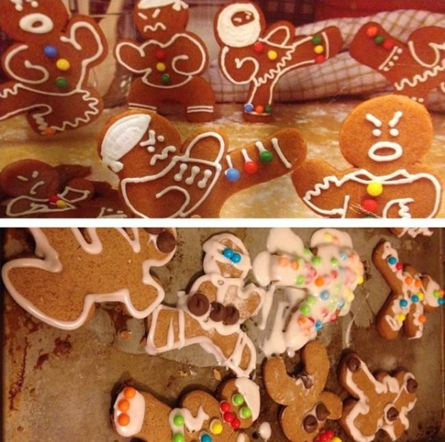 Hilarious Pinterest Fails With A Christmas Theme (30 pics)