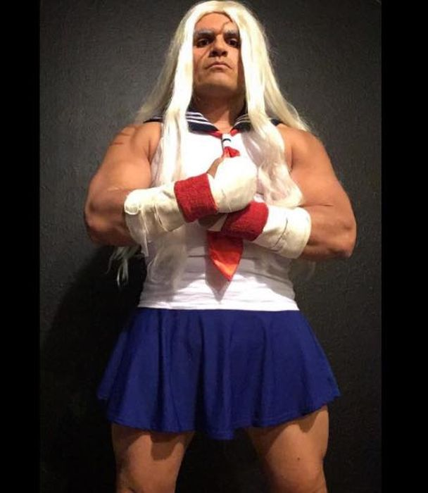 Dude Creates Insane Gender Bending Cosplays (12 pics)