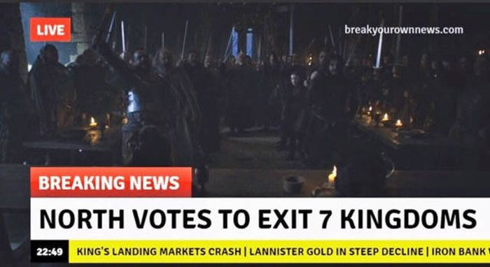 The Most Hilarious Game Of Thrones Jokes From 2016 (36 pics)