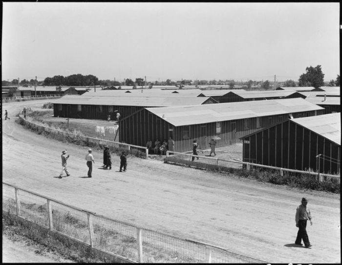 Vintage Photos Of Concentration Camps For The Japanese (20 pics)