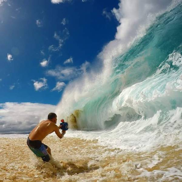 Sometimes The Camera Captures Photos At The Perfect Moment (45 pics)