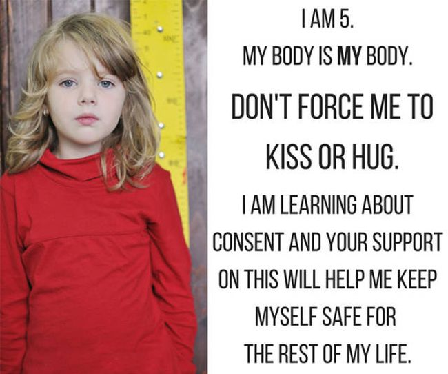 Message About Kids And Consent Sparks A Controversial Conversation (11 pics)