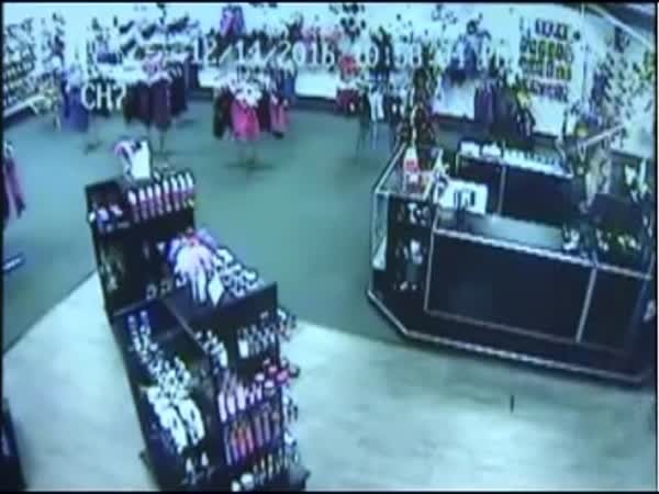 Adult Shop Workers Fight Off Gunman With Sex Toys
