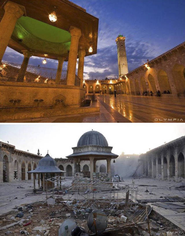 War Has Completely Destroyed The City Of Aleppo (30 pics)