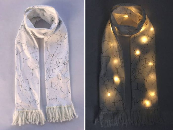 This Amazing Cosmic Scarf Will Make You Will Look Like A Star (5 pics)