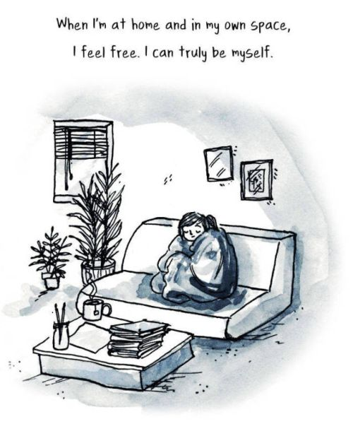 Comics That Accurately Capture The Experience Of Being An Introvert (29 pics)