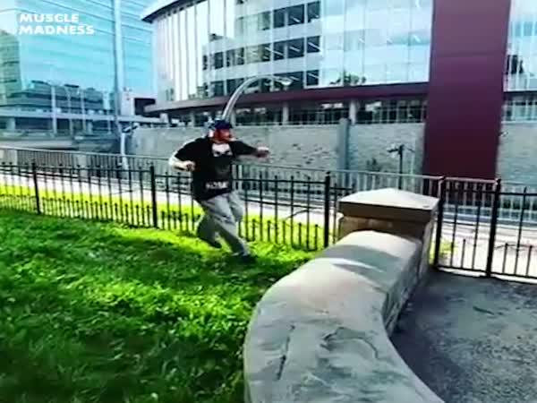 Fat Guy Jump