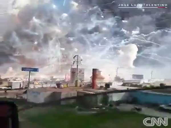 Fireworks Explosion In Mexico