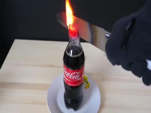 Knife VS Coke