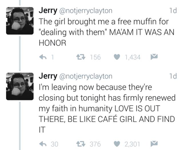 Man Live Tweets A Love Story Between Two Baristas (6 pics)