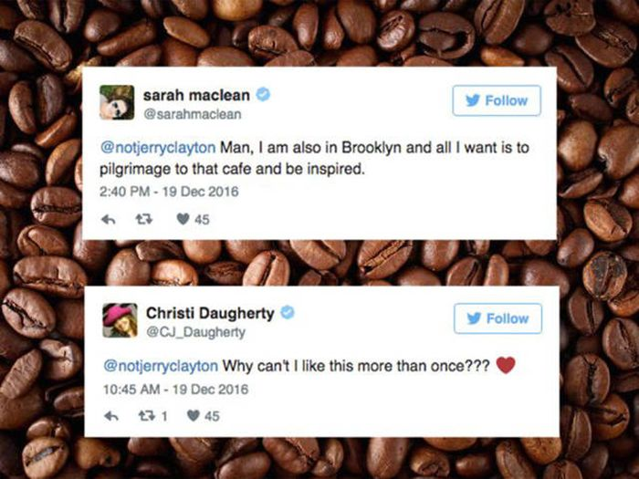 Man Live Tweets A Love Story Between Two Baristas (6 pics)