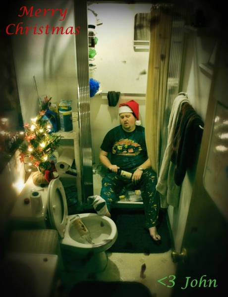 Every Year This Guy Makes The Best Custom Christmas Cards (9 pics)