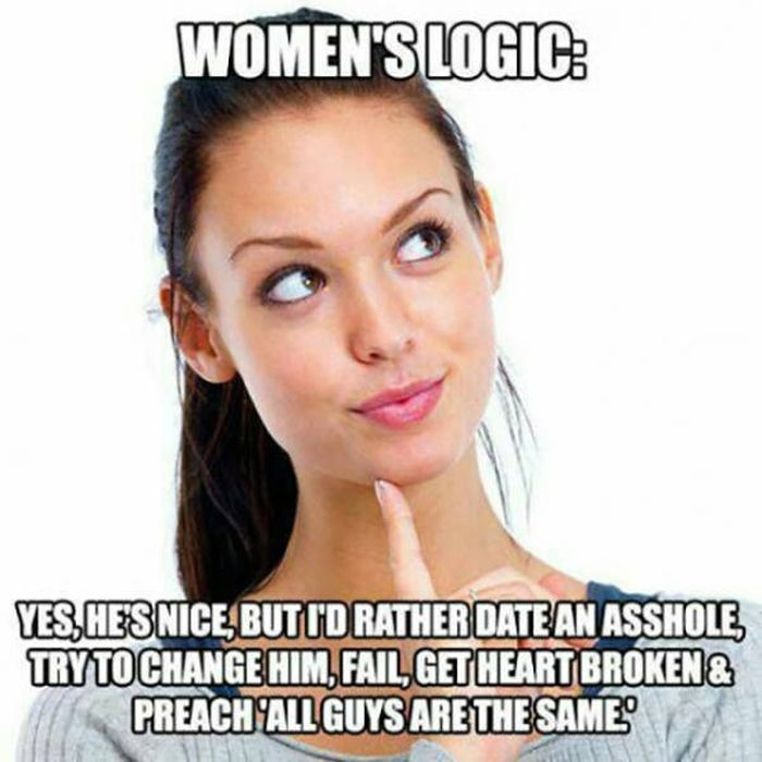 Women's Logic Is An Infinite Subject For Men To Explore (36 pics)