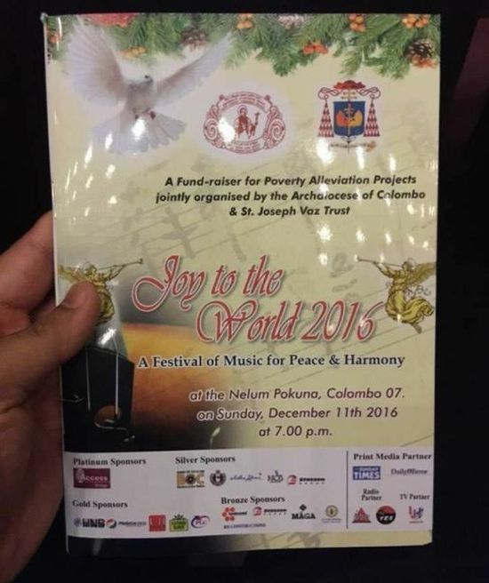 Sri Lanka Church Hands Out 2Pac Lyrics By Mistake (4 pics)