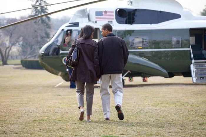 A Look Inside The President's Marine One Helicopter (12 pics)