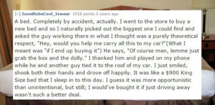 Thieves Reveal The Biggest Hauls Of Their Careers (16 pics)