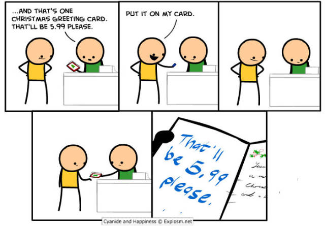 Hilarious And Awkward Cyanide And Happiness Christmas Comics (38 pics)