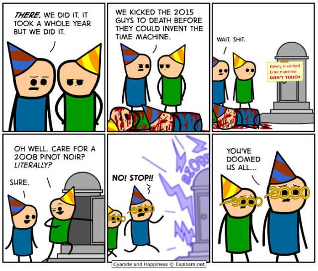 Hilarious And Awkward Cyanide And Happiness Christmas Comics (38 pics)