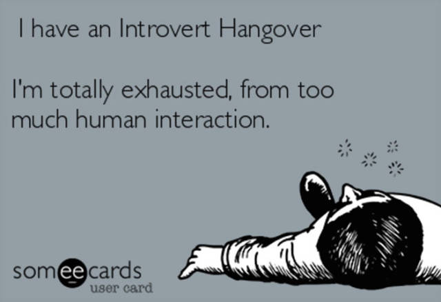 What Life Is Like If You're An Introvert According To Introverts (38 pics)