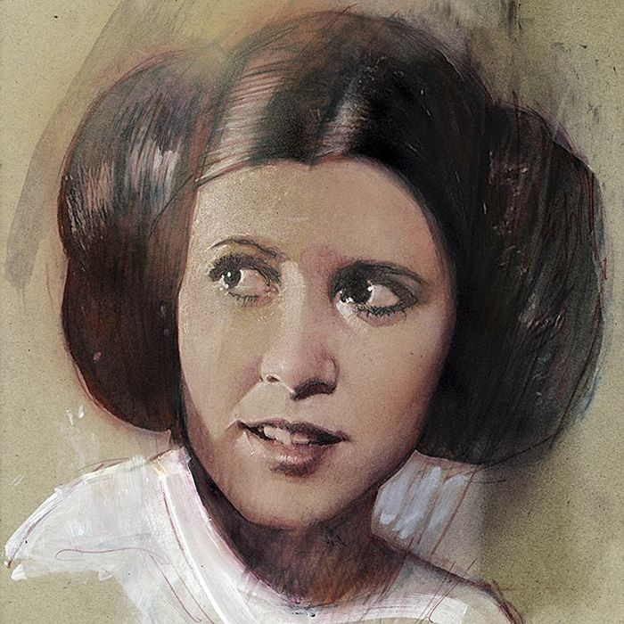 Heartwarming Tributes To The Late Carrie Fisher By Talented Artists (20 pics)
