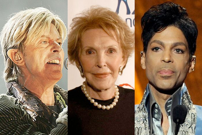All Of The Devastating Celebrity Deaths Of 2016 (2 pics)