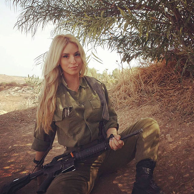 Say Hello To The Hot Women Of The Israeli Defense Force (31 pics)