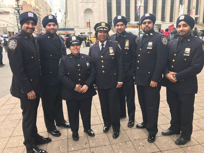 New York Police Officers Are Now Able To Wear Beards And Turbans (5 pics)