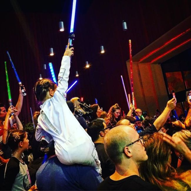 Star Wars Fans Pay Tribute To The Iconic Carrie Fisher (8 pics)