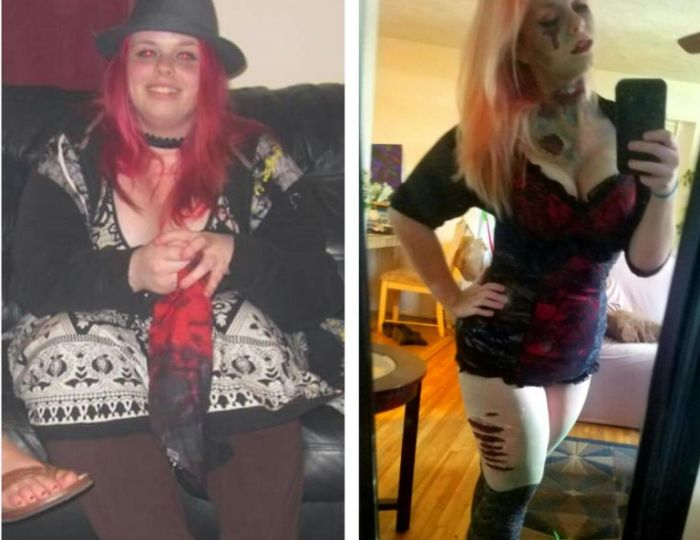 Woman Goes Through Incredible Two Year Weight Loss Transformation (5 pics)