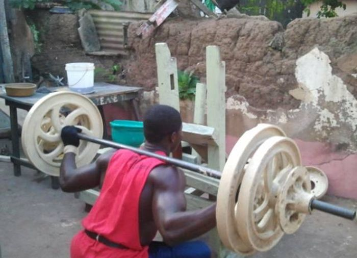 These Guys Prove You Don't Need Fancy Equipment To Train (18 pics)