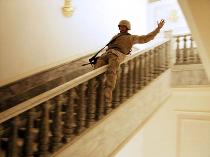 Off Duty Soldiers Do Some Pretty Awesome Things For Fun (34 pics)