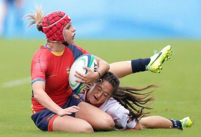 Sportswomen Can Be Beautiful, But They Can Also Be Terrifying (41 pics)