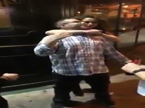 Girl Chokes Out Guy To Cure His Hiccups