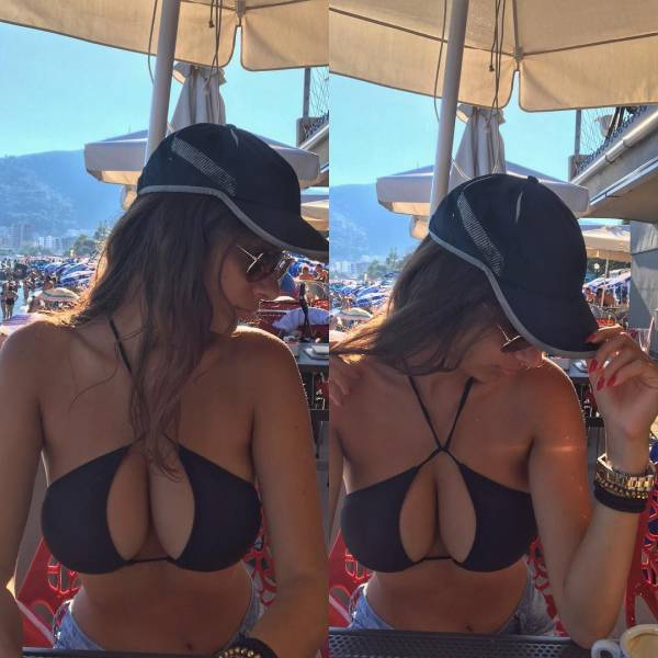 Girls With Beautiful Cleavage (53 pics)