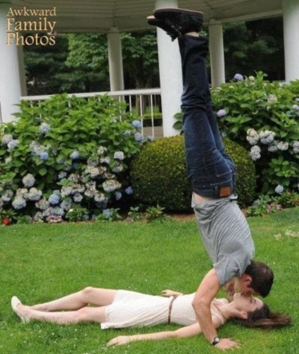The Most Cringeworthy Engagement Photos Ever Taken (18 pics)