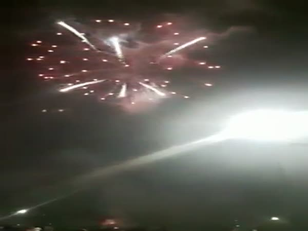 Malaysian Fireworks Exhibition Did Not Go Smoothly