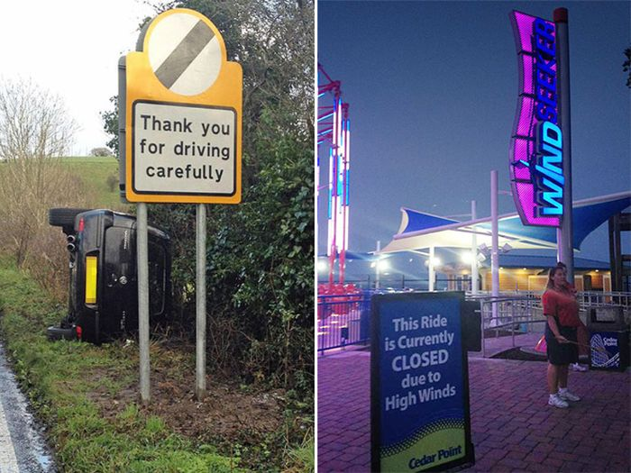 Hilarious Examples Of In Your Face Irony (20 pics)