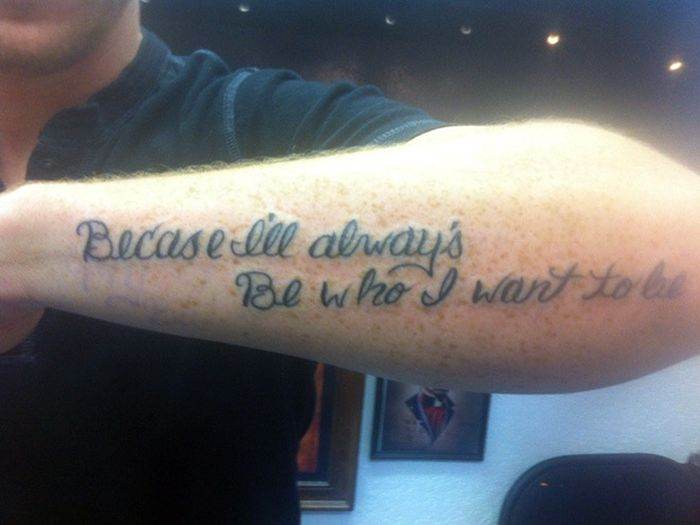 Tattoos Designed For People Who Are Stupid (16 pics)