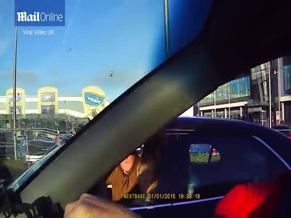 Dashcam Footage Shows Driver Being Punched To The Ground By Another In Road Rage Incident