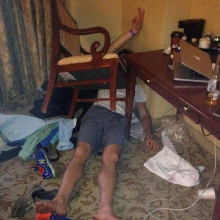 Пьяный всегда найдет приключение