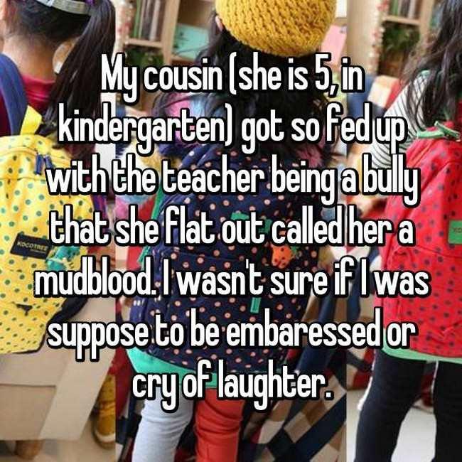 Insane Things Kids Have Said To Their Teachers (16 pics)