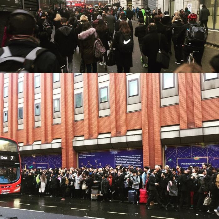 London Underground Workers Stage A Surprise Strike (11 pics)