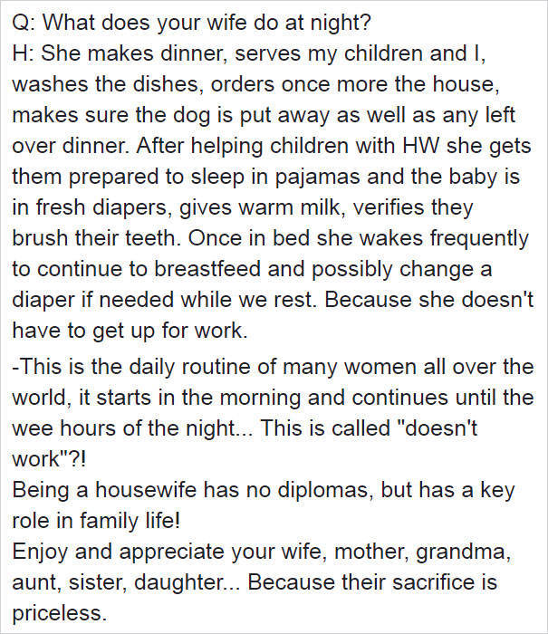 Inside The Life Of A Stay At Home Wife (15 pics)