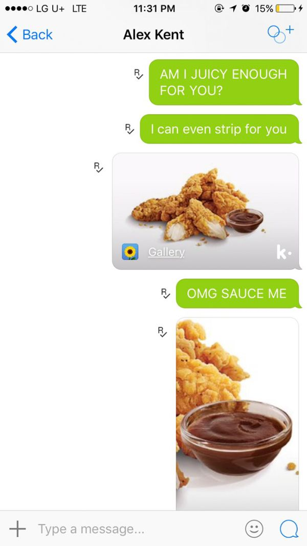 Girl Sends Best Response Ever After Guy Asks For Nudes (4 pics)