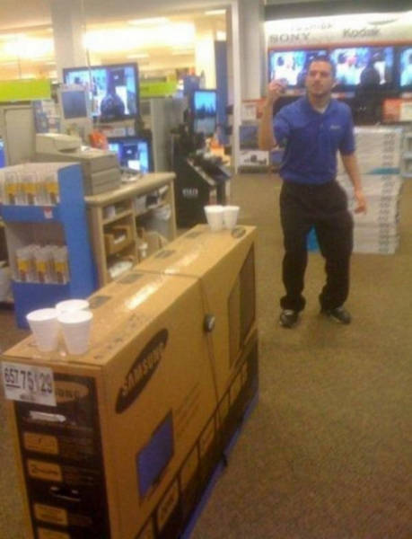 Don't Be Afraid To Do Something Crazy When You Get Bored At Work (42 pics)