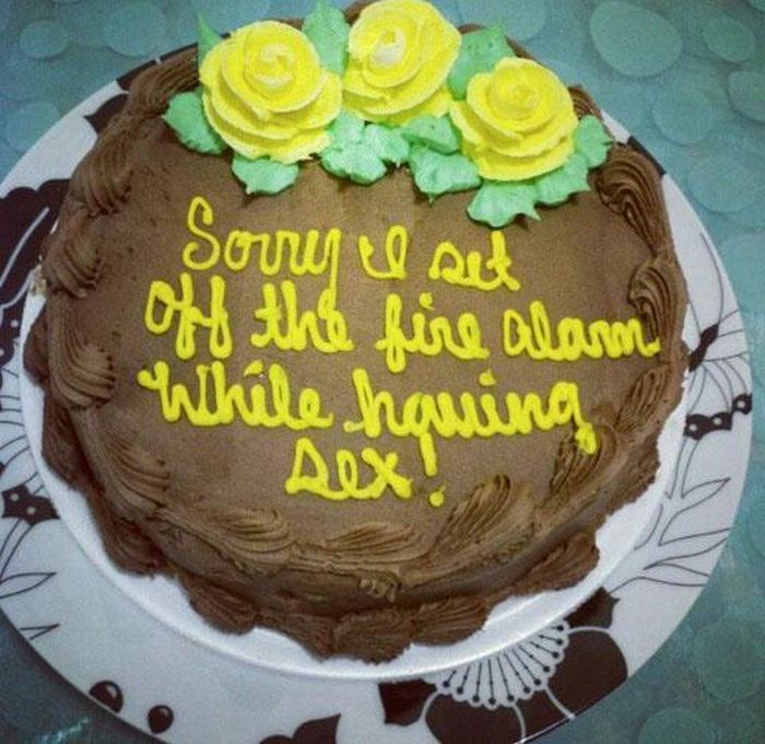 People Who Used A Cake To Say Sorry For Sexual Misdeeds (16 pics)
