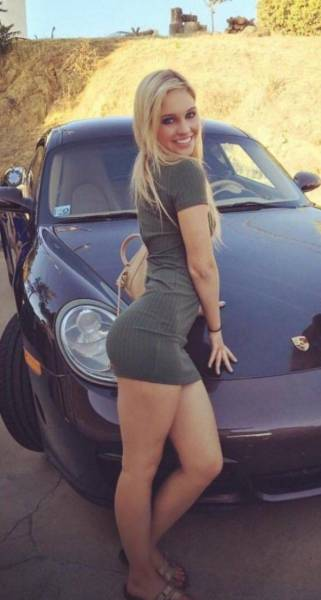 Hot Babes Use Tight Dresses To Turn Up The Sex Appeal (58 pics)