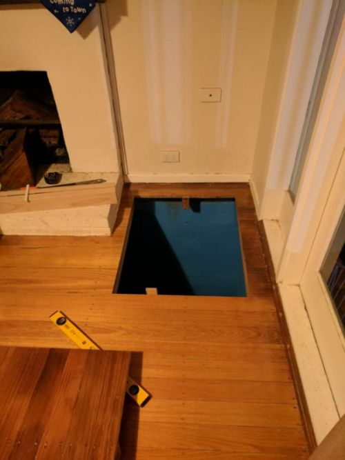 When You See Where This Hidden Staircase Leads You're Going To Want One (12 pics)