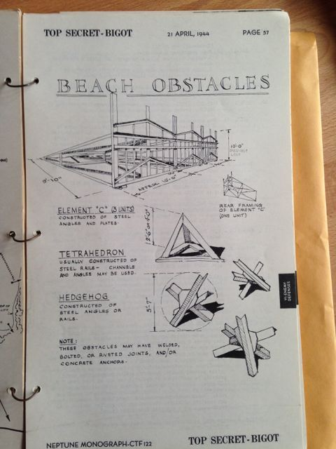 Documents Reveal Original Plans For The D-Day invasion (12 pics)