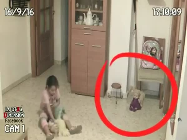 Father Sets Up Cameras After Daughter Complains Of Something Bothering Her